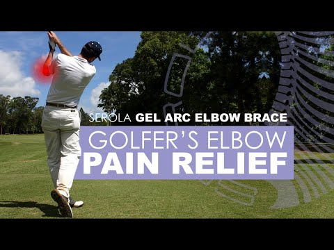 Serola Gel Arc Elbow Brace: Medial Epicondylitis (Golfer's Elbow)