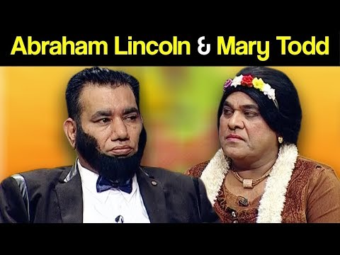 Khabardar Aftab Iqbal 23 March 2019 | Abraham Lincoln & Mary Todd | Express News