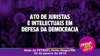 Ato Internacional de juristas e intelectuais em defesa da Democracia