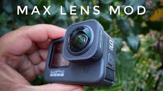 GoPro Hero 9 Max Lens Mod   Demonstration & Sample Footage