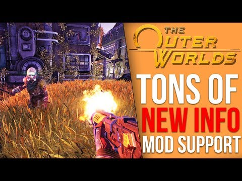 The Outer Worlds News - Feels Like Fallout, New Gameplay Coming, Mod Support