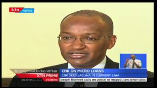 Central Bank of Kenya on applicable interest rate on Micro Loans, KTN Prime 21st September 2016