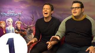 """Elsa, do you want to play a game?"" Josh Gad on Olaf's 'more mature' voice in Frozen 2"