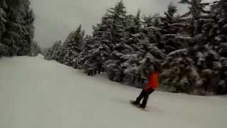 preview picture of video 'Snowboarding Ochsenkopf'