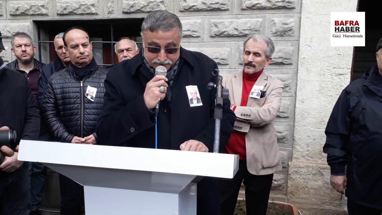 Namık Anarat İçin Musiki Cemiyeti Önünde Tören Düzenlendi