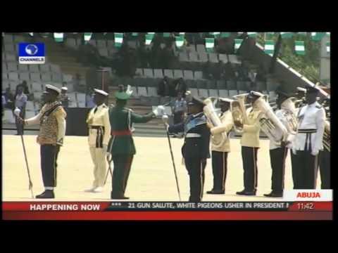 Nigeria 2015 President Muhammadu Buhari Swearing-in Parade -- Part 2 --29/05/15
