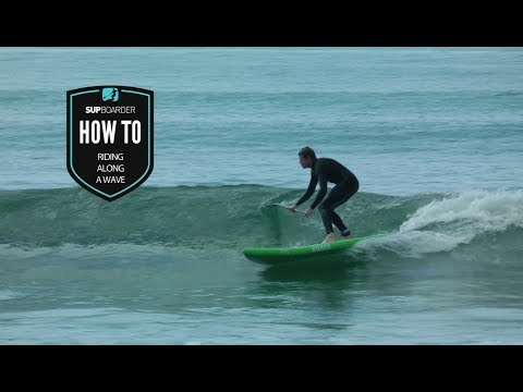 The basics to riding along a wave / How to video