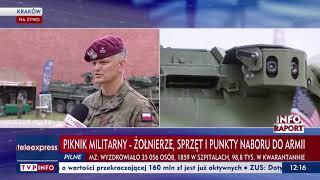 Piknik militarny w Krakowie