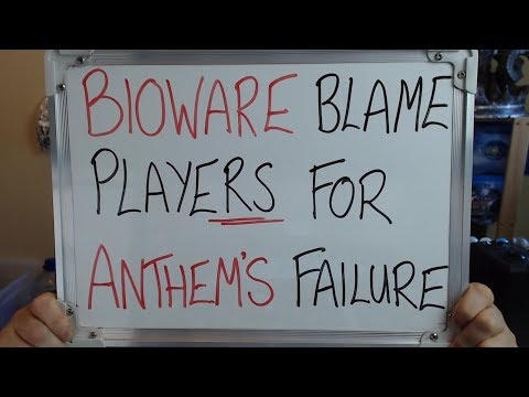 BIOWARE Allegedly BLAME PLAYERS for ANTHEM'S Failure!!