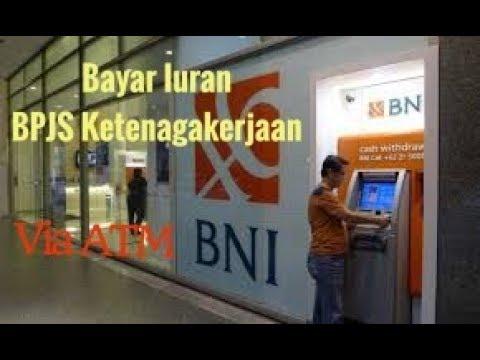 Cara Bayar BPJS Ketenagakerjaan Via ATM BNI (Terbaru)