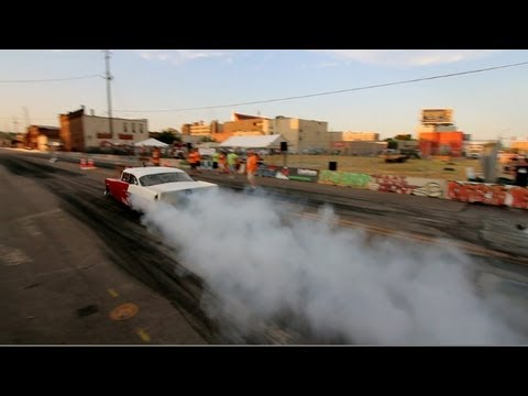 PROMOD Street Racing in Downtown Sioux City! (Rock N' Rods '12)