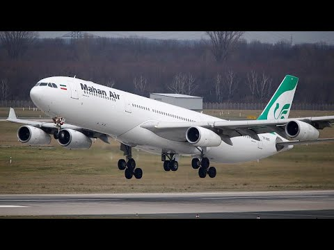 Oι γερμανικές αρχές ανακάλεσαν την άδεια της ιρανικής αεροπορικής Mahan Air…