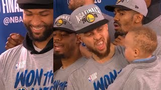 GS Warriors - Trophy Presentation Ceremony   Western Conference Finals   2019 NBA Playoffs