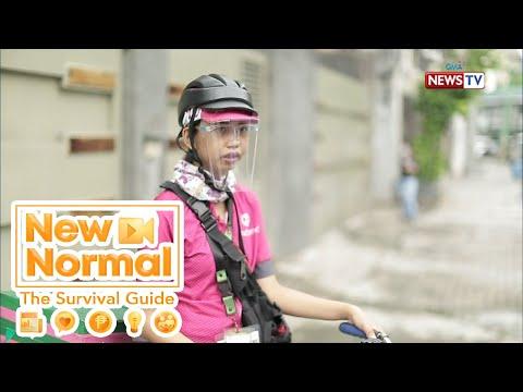 [GMA]  Bright Side: Buhay ng isang food delivery rider, alamin! | New Normal