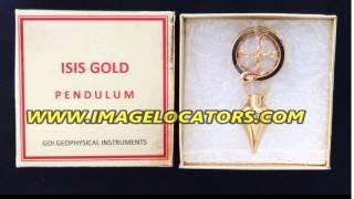 ISIS gold dowsing pendulum