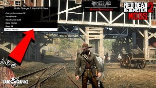 How to install RDR 2 Outfit Changer 01