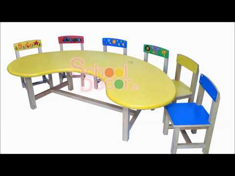 Kindergarten School Desk SQ-028
