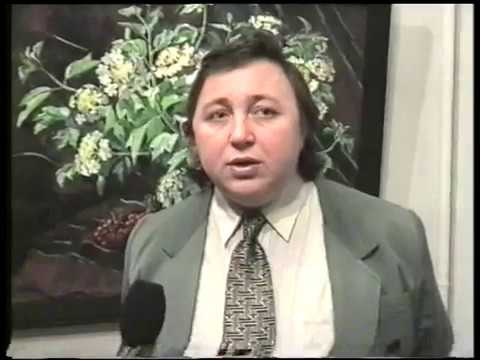Виставка Т.Галькун в Галерей мистецтв ВОНСХУ. 1997 - YouTube