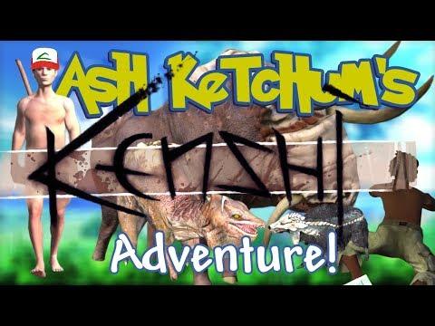 Ash Ketchum's Kenshi Adventure (Pokemon + Kenshi)