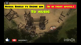Android Drone Simulator Fpv Freerider Recharged 3D Flying In The Park????On Nvidia Shield TV ????????????????