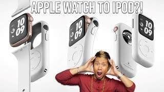 Turn Your Apple Watch Into An IPod! - Pod Case Concept
