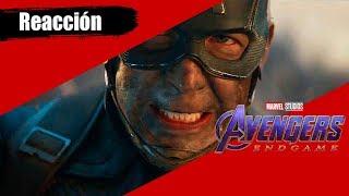 Reaccionando Al Segundo Trailer De Avengers EndGame