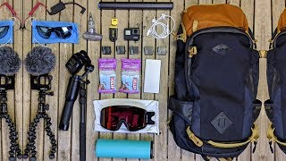 What's In My Snowboard Backpack?