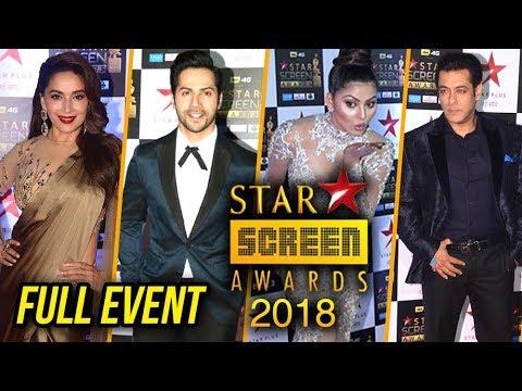 Stars Screen Awards 2018 FULL SHOW RED CARPET HD