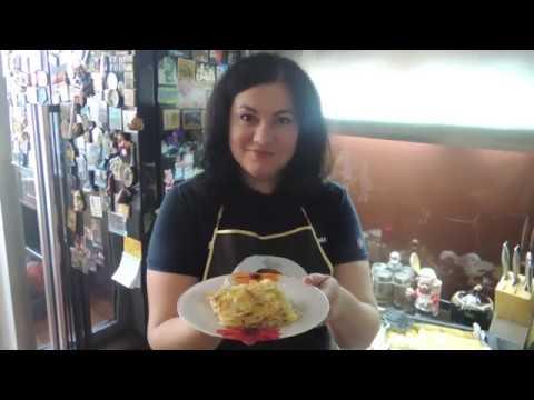 Картофельный гратен с брынзой