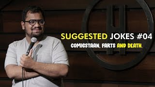 Comicstaan, Farts and Death   Suggested Jokes #4   Stand-up Comedy by Rueben Kaduskar