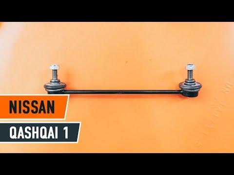 Come sostituire asta puntone stabilizzatore anteriore su NISSAN QASHQAI 1 [Tutorial]