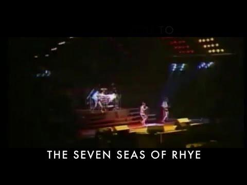 Seven Seas of Rhye Lyric Video