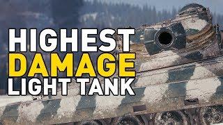 World of Tanks || HIGHEST DAMAGE LIGHT!