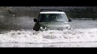 YouTube Video FxJALxhIx8k for Product Land Rover Defender (L663) by Company Land Rover in Industry Cars