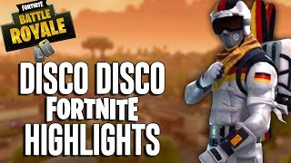 Disco Disco!! Fortnite Highlights! Ninja