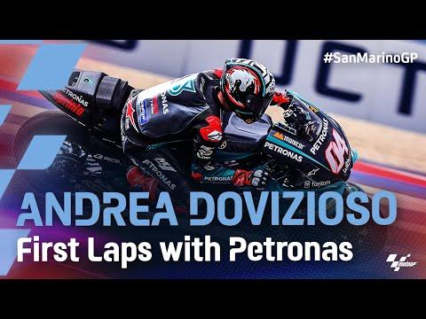 アンドレア・ドヴィチオーゾの初走行動画 MotoGP 2021 第14戦サンマリノ