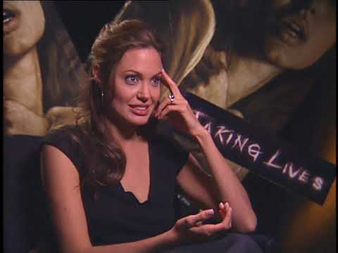 Angelina Jolie - talks about her film..Taking Lives
