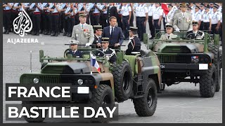 France Marks Bastille Day With Scaled-down Military Parade