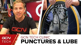 Skinwall Tyres & The Ultimate Chain Lube | GCN Tech Clinic