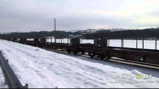 Tovorni vlak na relaciji Ljutomer - Mekotnjak