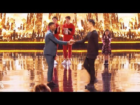 Results Quarter Finals  Johnny Manuel Damian Aditya America's Got Talent 2017 Round 2 (видео)