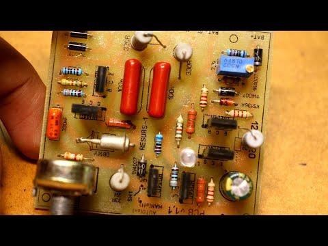 Зарядное устройство ресурс-1 модернизация (один тиристор вместо двух)