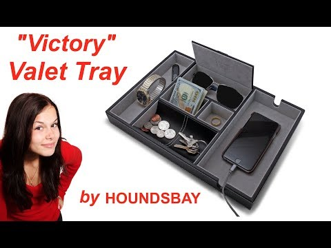 "The ""Victory"" Valet Tray by HOUNDSBAY"
