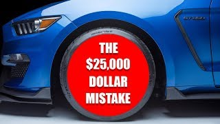 Destroyed My $25,000 Wheels - Shelby GT350R Carbon Fiber Rims