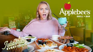 Trying The Most Popular Menu Items At Applebee's