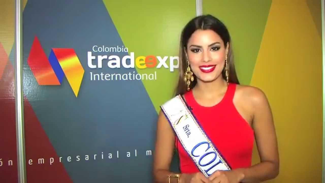 Colombia Trade Expo 2015 con Arianna Gutierrez