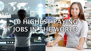 Top 10 Highest Paying Jobs List - Good Paying Careers to get Paid alot | Top 10 List
