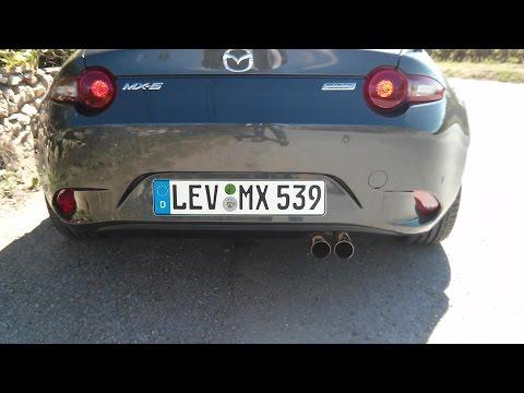 Soundcheck Mazda MX 5 Skyactiv-G 160