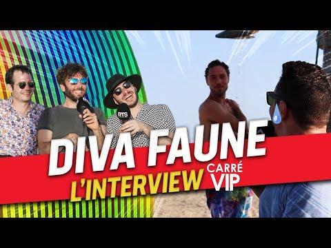 Diva Faune l'interview trio dans Carré ViP sur RTS