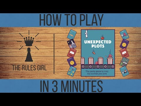 Unexpected Plots - How to Play in 3 Minutes